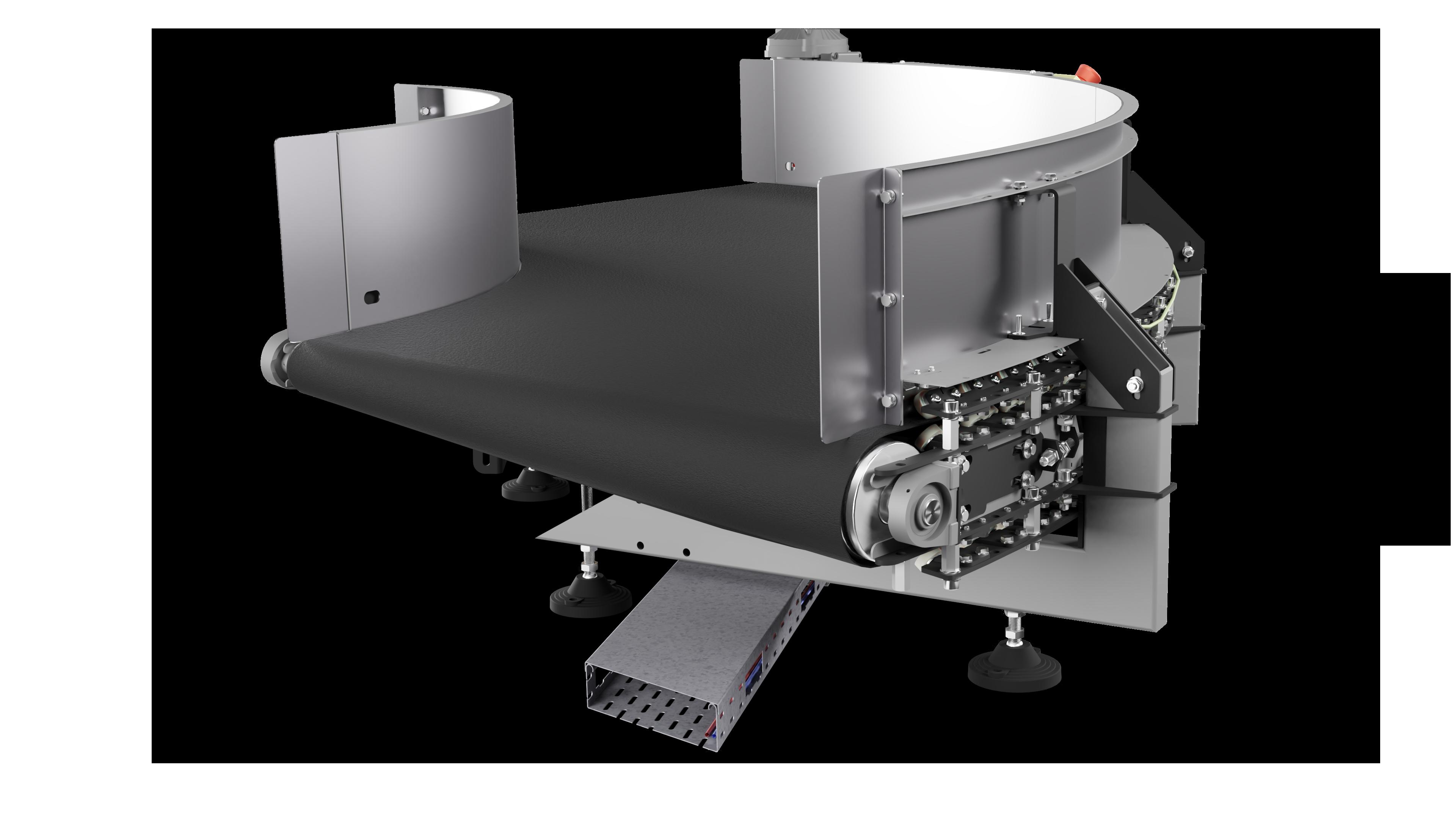 DHAKA - Standardowy przenosnik lukowy 90 stopni 001a