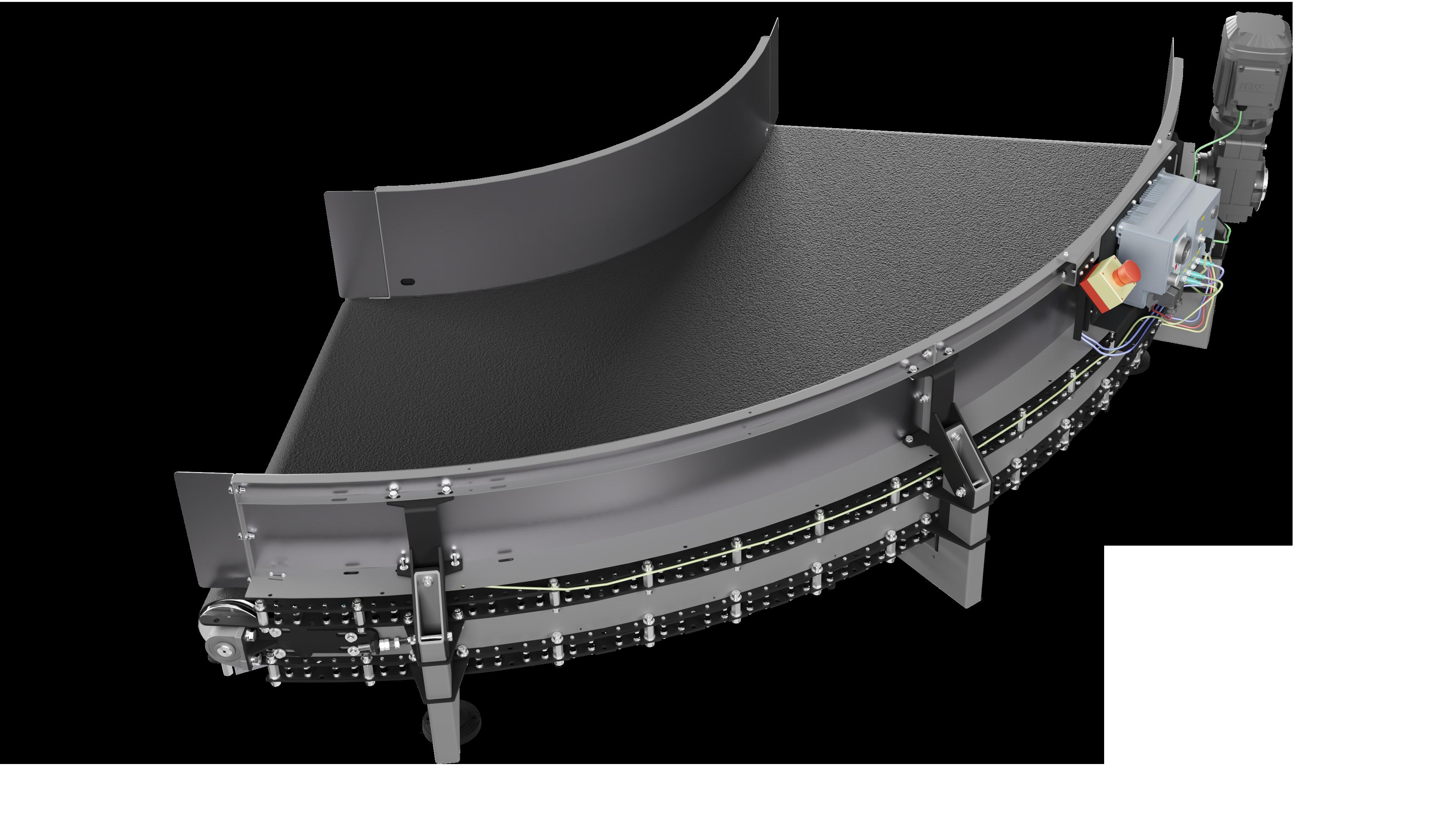 DHAKA - Standardowy przenosnik lukowy 90 stopni 002a