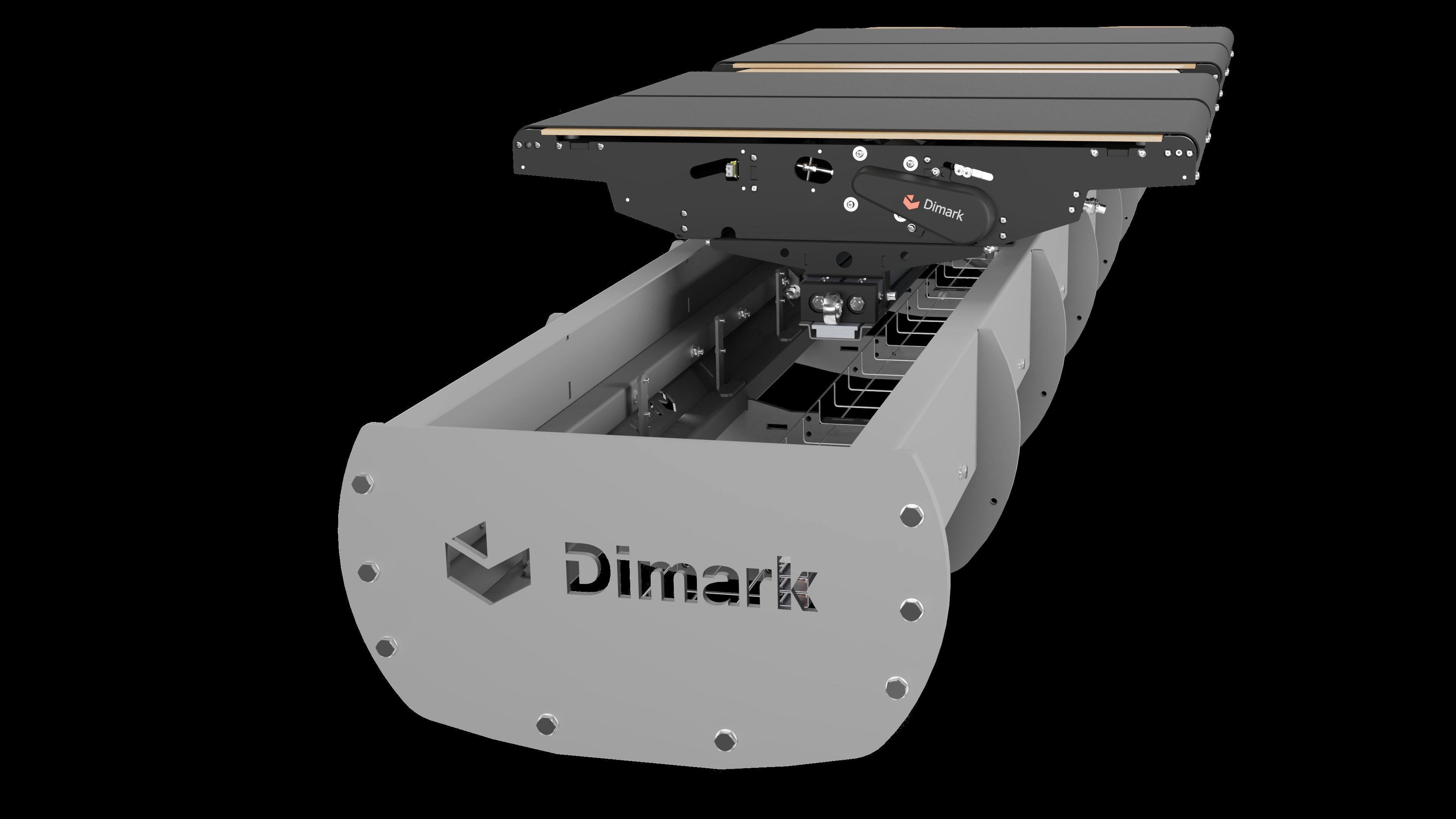 DHAKA - Cross-belt sorter 001