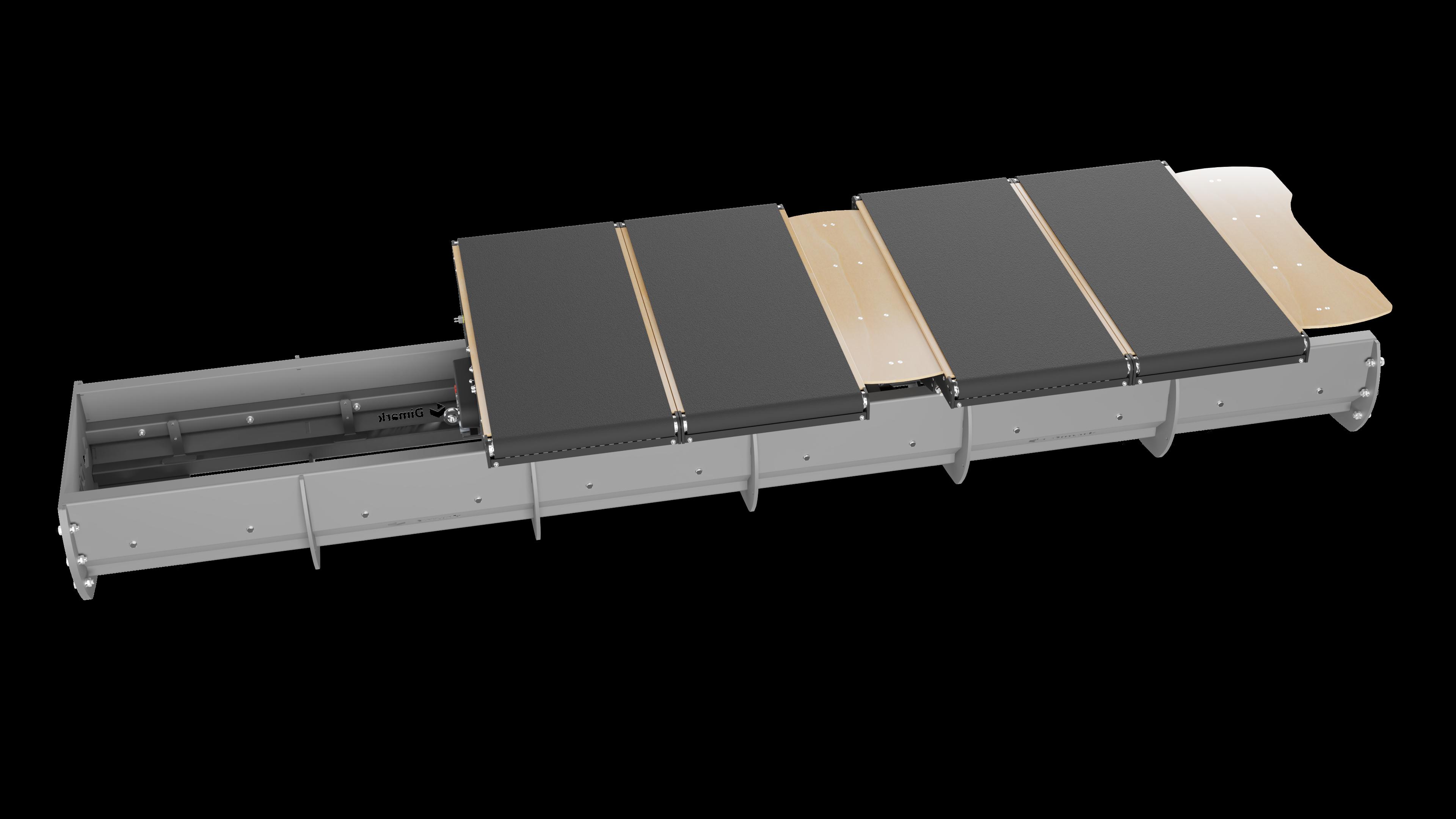 DHAKA - Cross-belt sorter 003