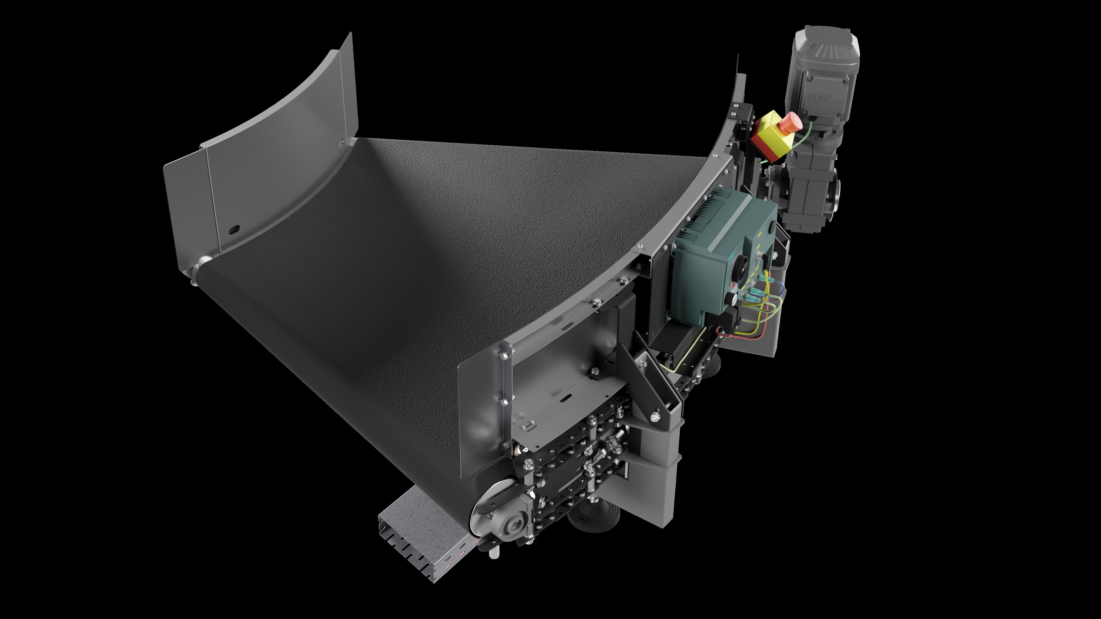 DHAKA - Standardowy przenośnik 45 stopni 002