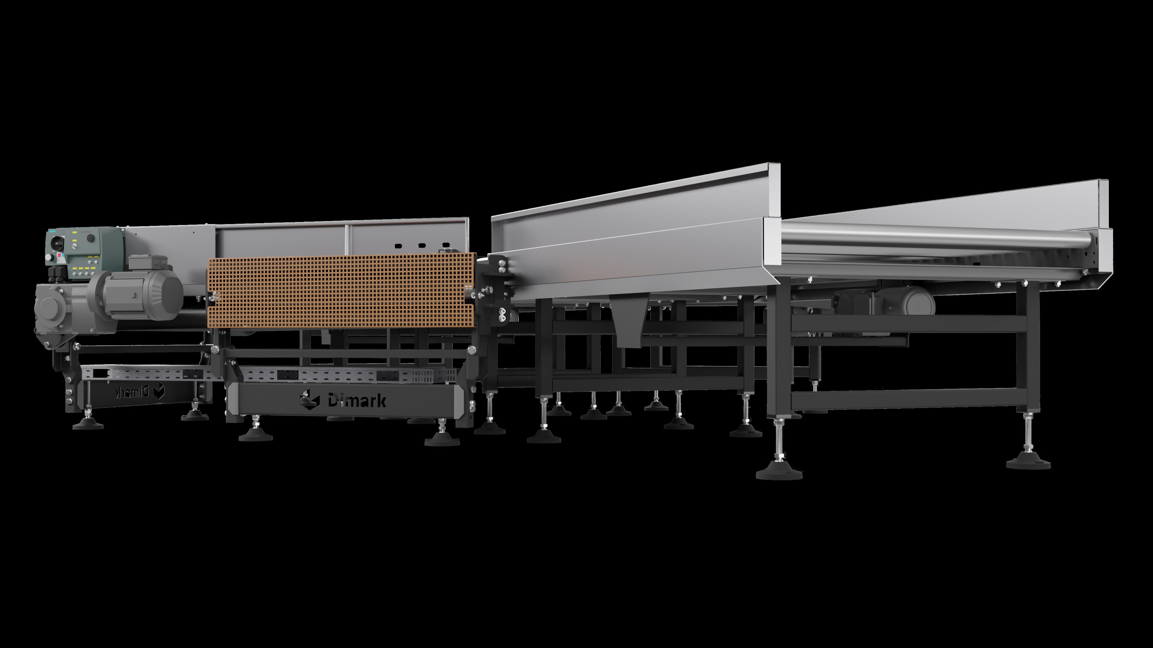 Horizontal distribution conveyor 002