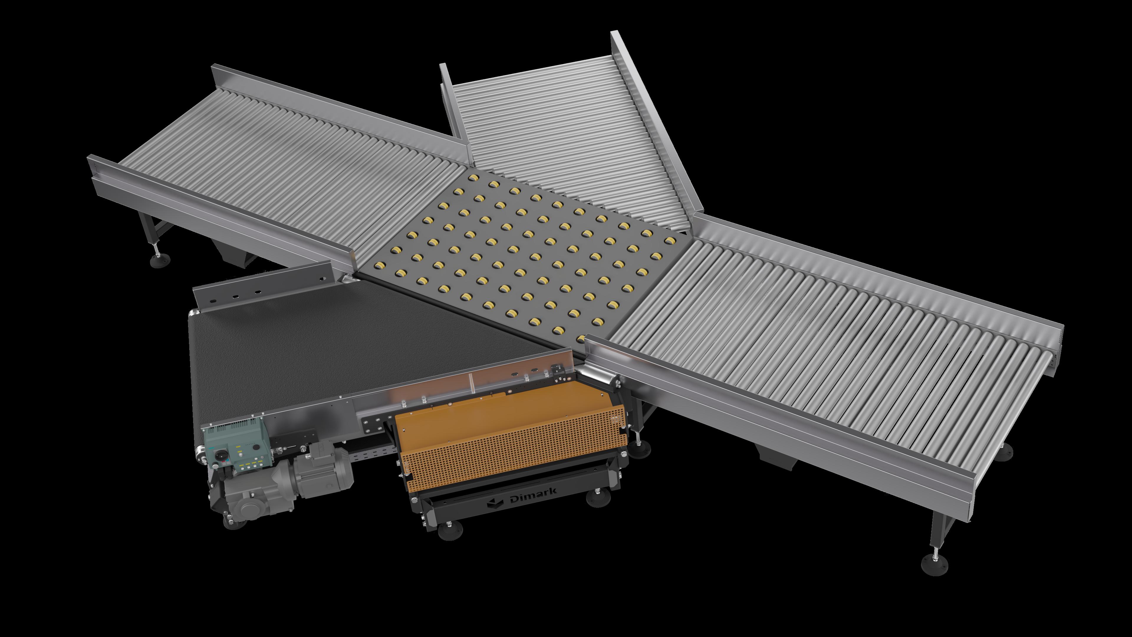 Horizontal distribution conveyor 003
